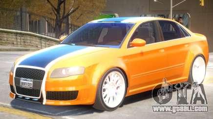 Audi RS4 V2 PJ3 for GTA 4