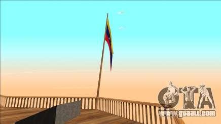 Venezuela flag on mount čilliad for GTA San Andreas