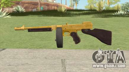Edinburgh Gusenburg Sweeper GTA V (Gold) V2 for GTA San Andreas