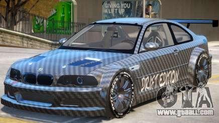 BMW M3 GTR Drift PJ1 for GTA 4