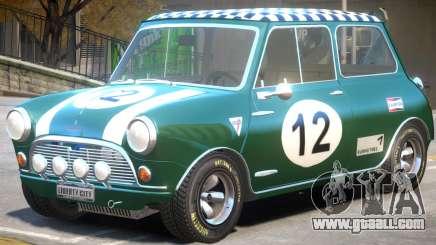 Mini Cooper V1 PJ1 for GTA 4