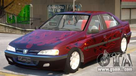 Peugeot Pars V1 PJ2 for GTA 4