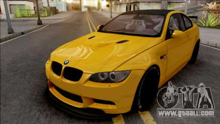 BMW M3 E92 GTS 2010 for GTA San Andreas