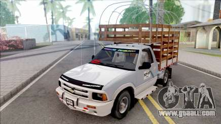 Chevrolet S10 Con Estacas for GTA San Andreas
