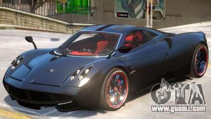 Pagani Huyara V1 for GTA 4