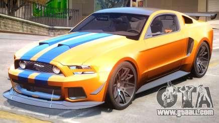 Ford Mustang GT PJ1 for GTA 4