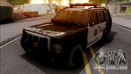 Todoterreno De La Policia for GTA San Andreas
