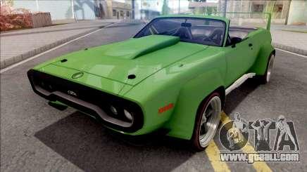 Plymouth GTX 1972 Cabrio Custom for GTA San Andreas