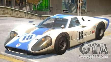 1967 Ford GT40 V1 PJ4 for GTA 4