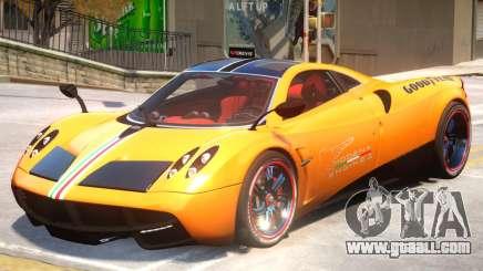 Pagani Huyara V1 PJ1 for GTA 4