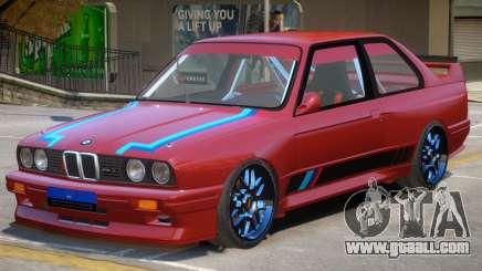 1990 BMW M3 PJ for GTA 4