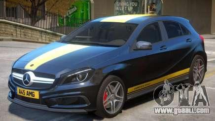 Mersedes Benz A45 V1 PJ6 for GTA 4