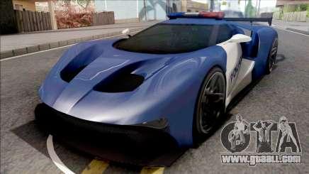 Vapid FMJ Police for GTA San Andreas