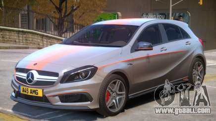 Mersedes Benz A45 V1 PJ7 for GTA 4
