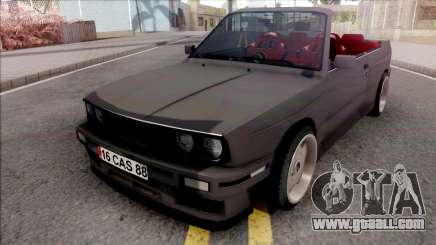 BMW 3-er E30 Cabrio for GTA San Andreas