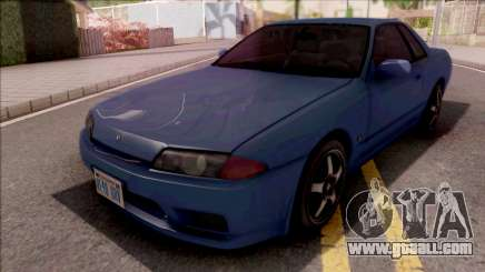 Nissan Skyline R32 Blue for GTA San Andreas