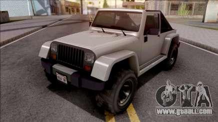 GTA V Canis Mesa Grande IVF Style for GTA San Andreas