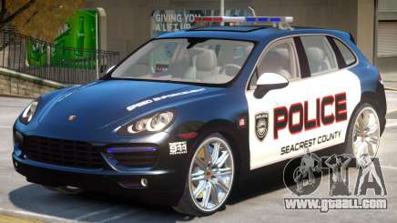 Porsche Cayenne Police for GTA 4