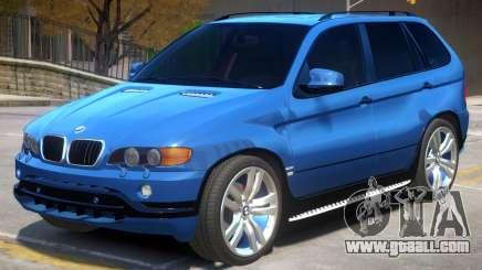 BMW X5 R2 for GTA 4