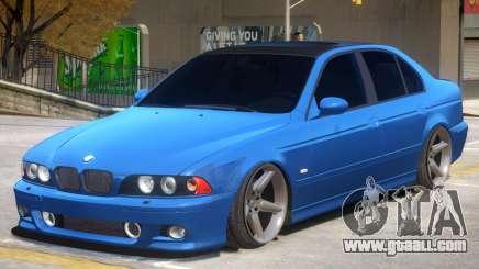 BMW M5 E39 V1 for GTA 4