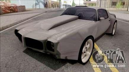 Pontiac Firebird 1970 Custom for GTA San Andreas