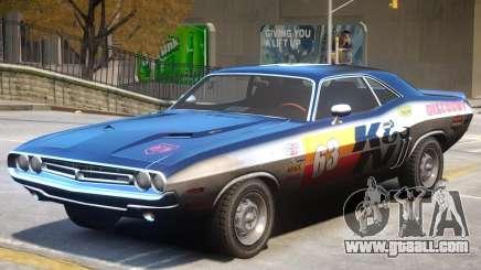Dodge Challenger V1 PJ2 for GTA 4