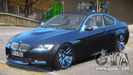 BMW M3 E92 V2 for GTA 4
