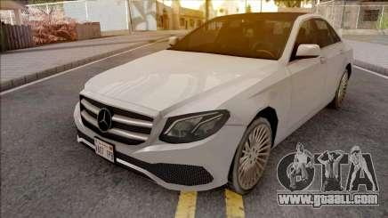 Mercedes-Benz E-Class 2017 Lowpoly for GTA San Andreas