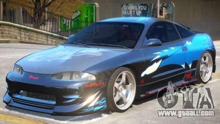 1995 Mitsubishi Eclipse GSX for GTA 4