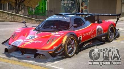 Pagani Zonda R PJ3 for GTA 4