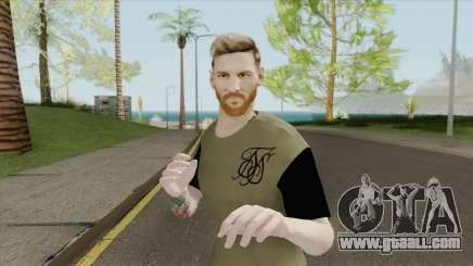 Lionel Messi HQ for GTA San Andreas