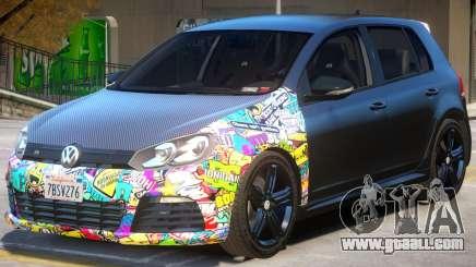 Volkswagen Golf R V2 for GTA 4