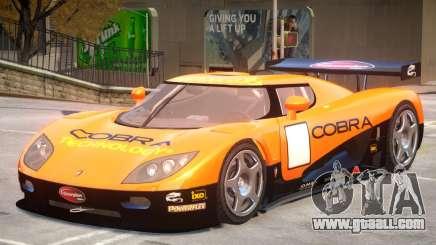 Koenigsegg CCGT V2 PJ3 for GTA 4