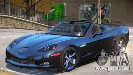 Chevrolet Corvette C6 Roadster for GTA 4