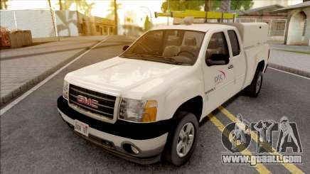 GMC Sierra 2009 Dillimore Telephone Company for GTA San Andreas