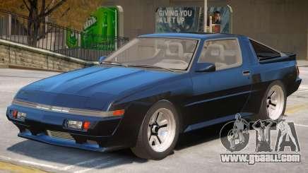 1986 Mitsubishi Starion V1 for GTA 4