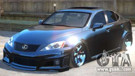 Lexus IS Improved for GTA 4
