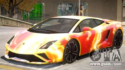 Lamborghini Gallardo V2 PJ3 for GTA 4