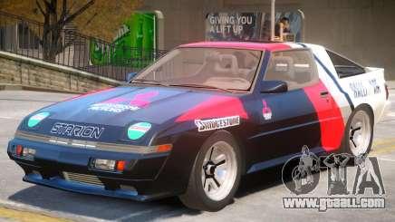 1986 Mitsubishi Starion PJ1 for GTA 4