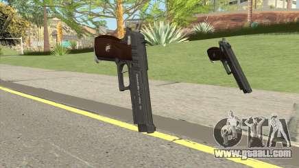 Hawk And Little Pistol GTA V Black (New Gen) V1 for GTA San Andreas