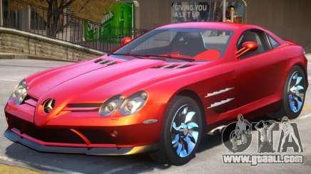 Mercedes Benz SLR V1.1 for GTA 4