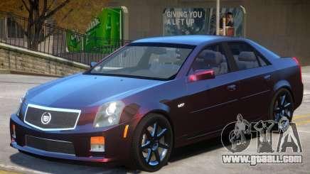 Cadillac CTS-V Stock for GTA 4