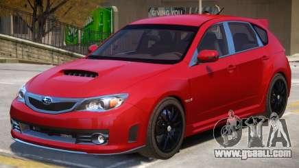 Subaru Impreza STI V2 for GTA 4