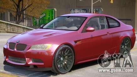 BMW M3 GT V1 for GTA 4