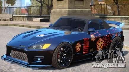 Honda S2000 V1 PJ for GTA 4