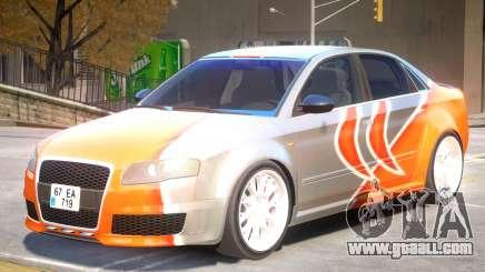 Audi RS4 V2 PJ1 for GTA 4