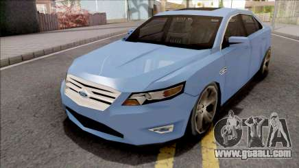 Ford Taurus 2011 Lowpoly for GTA San Andreas