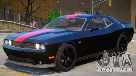 Dodge Challenger SRT V1.1 PJ3 for GTA 4