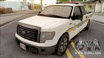 Ford F-150 2013 Red County Sheriff Office for GTA San Andreas