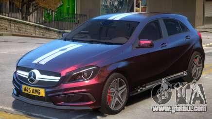 Mersedes Benz A45 V1 PJ10 for GTA 4